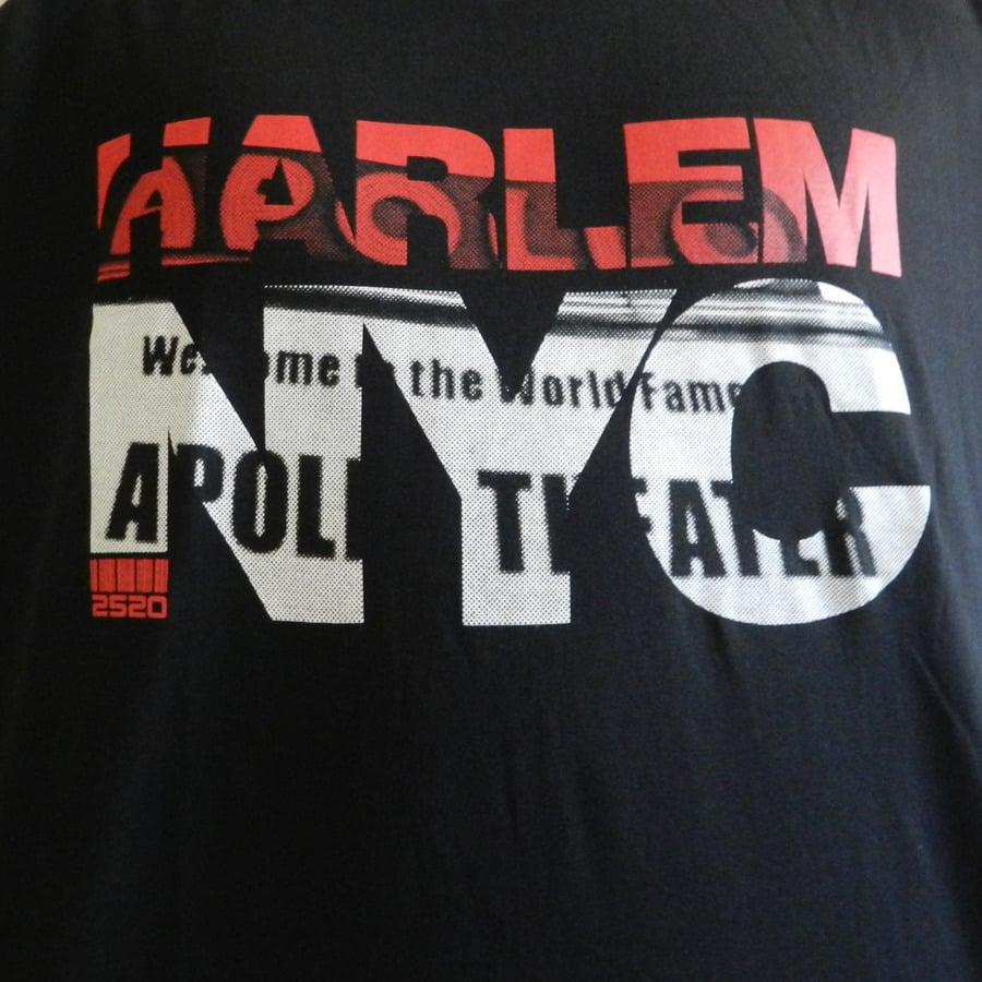 Image of HARLEM NYC TEE - BLACK