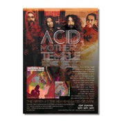 Image of ACID MOTHERS TEMPLE Ripper Album & UK Tour Poster (A3)