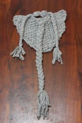 Image of Grey Knit Beard