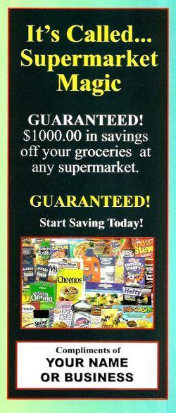 Image of $1000 GrocerySaving Coupons Certificates (Starting @ .49 ea.)