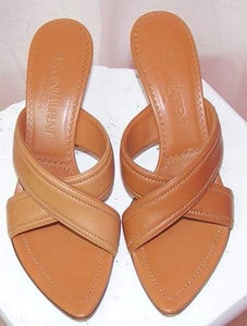 Image of Yves Saint Laurent Caramel Mule