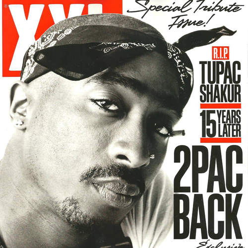 Image of 2pac back