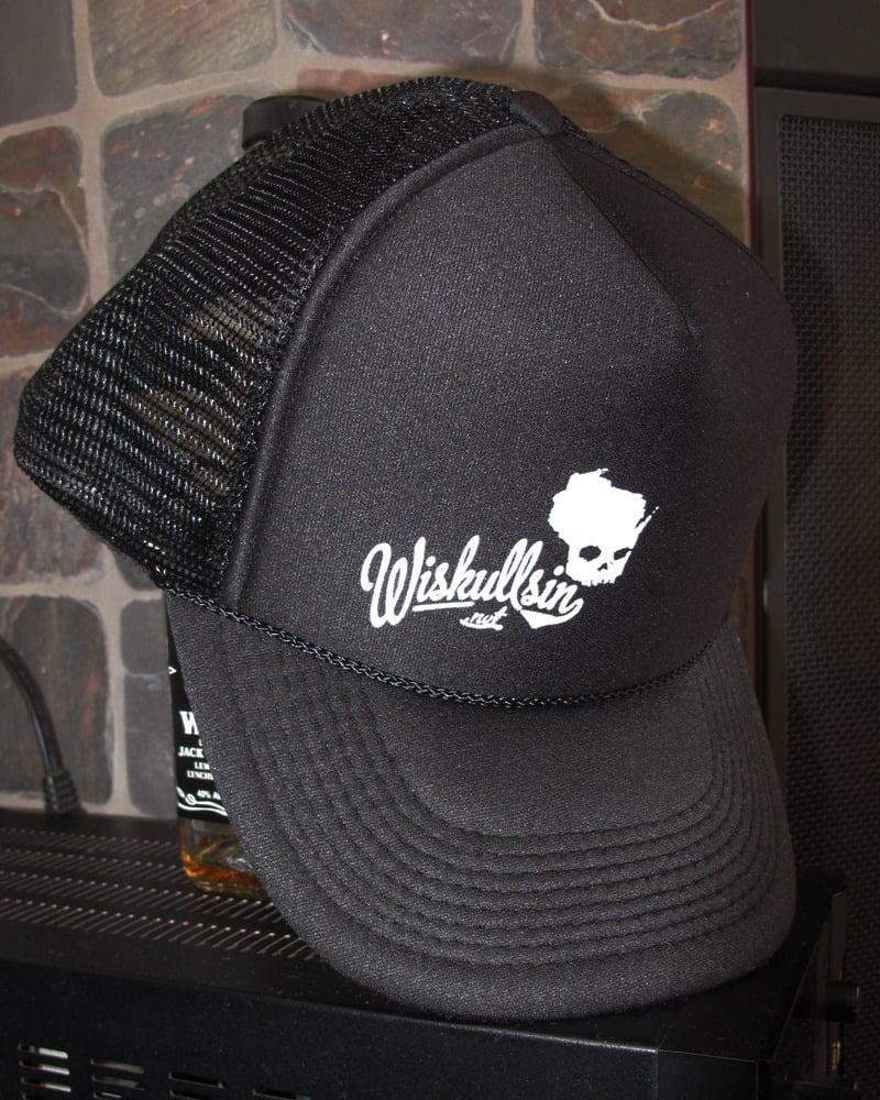 Wiskullsin Hat (Black/Black)