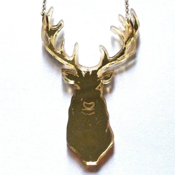 Image of My Deer - available in black or gold perspex SOLD OUT