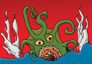 """Image of """"The Kraken"""" by Wilco Gains"""