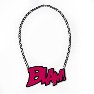 Image of BLAM! Necklace