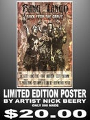 "Image of Limited Edition Bang Tango Poster (500 prints) by Artist ""Nick Beery"" aka The Beery Method"