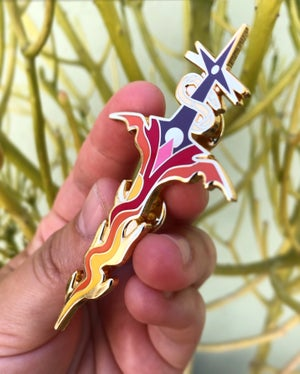 Dragon Sword ~ Large Pin