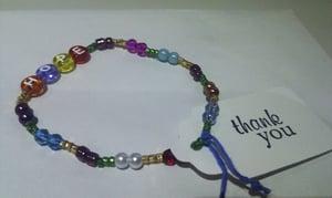 Image of Handmade alphabet bracelet