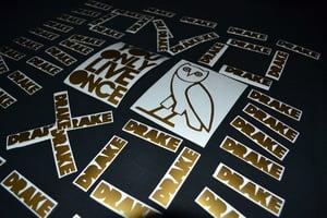Davila Decals — Drake OVOXO Owl/YOLO Stickers Buy Both w ...