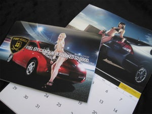 Image of Pump Rebels 2012 Fuel Efficient Car Calendar