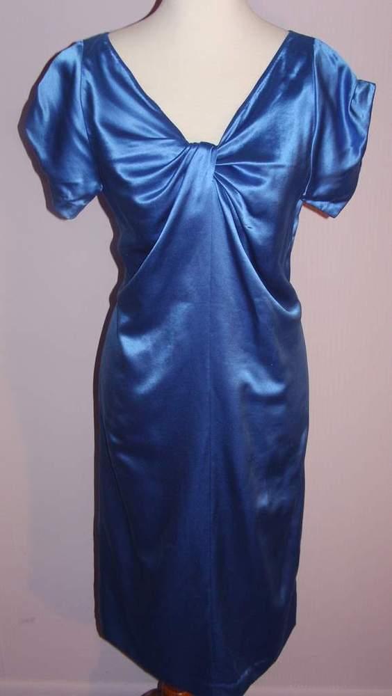 Image of Dries Van Noten Sky Blue Dress