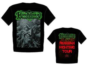 Image of FLESHLESS - Russian Fighting Tour T-shirt