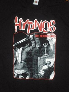 Image of HYPNOS - REVENGE RIDE / MASS INFECTION-red logo T-shirts