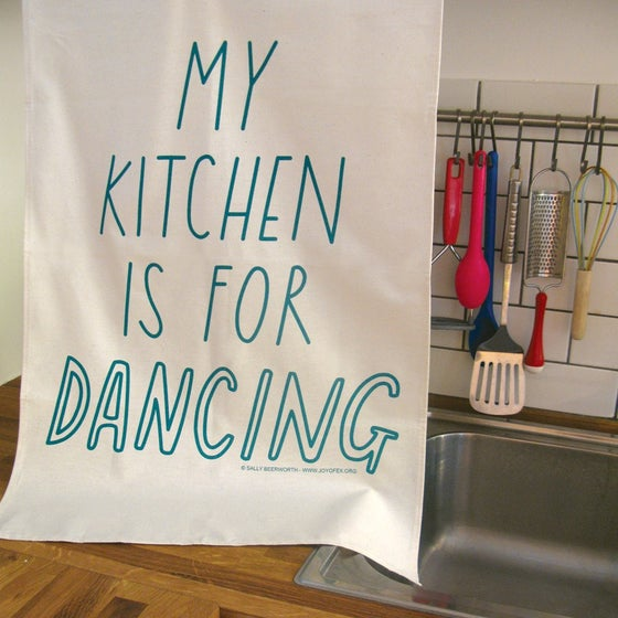 Image of Kitchen Dancing Tea Towel