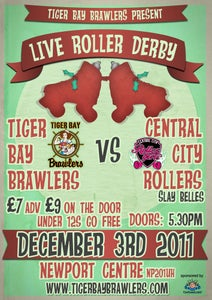 Image of Bout Tickets : Tiger Bay Brawlers V's CCR Slay Belles.