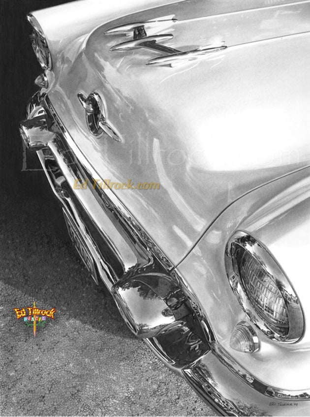"Image of ""55 Olds"" 11x17 print"