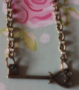 Image of Vintage Key Short Necklace