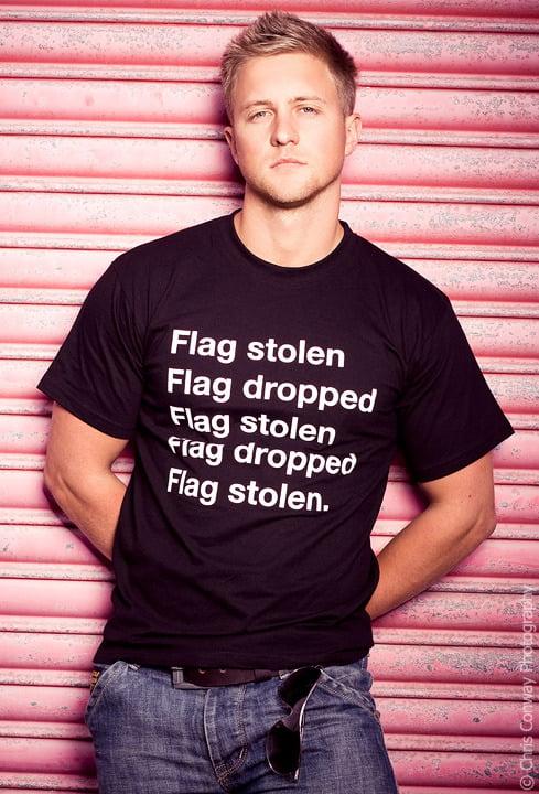 Flag Stolen