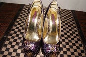 Image of Dollhouse Patent Leather Pumps w/ Buckle
