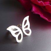 Image of Butterfly Ring - Handmade Silver Ring
