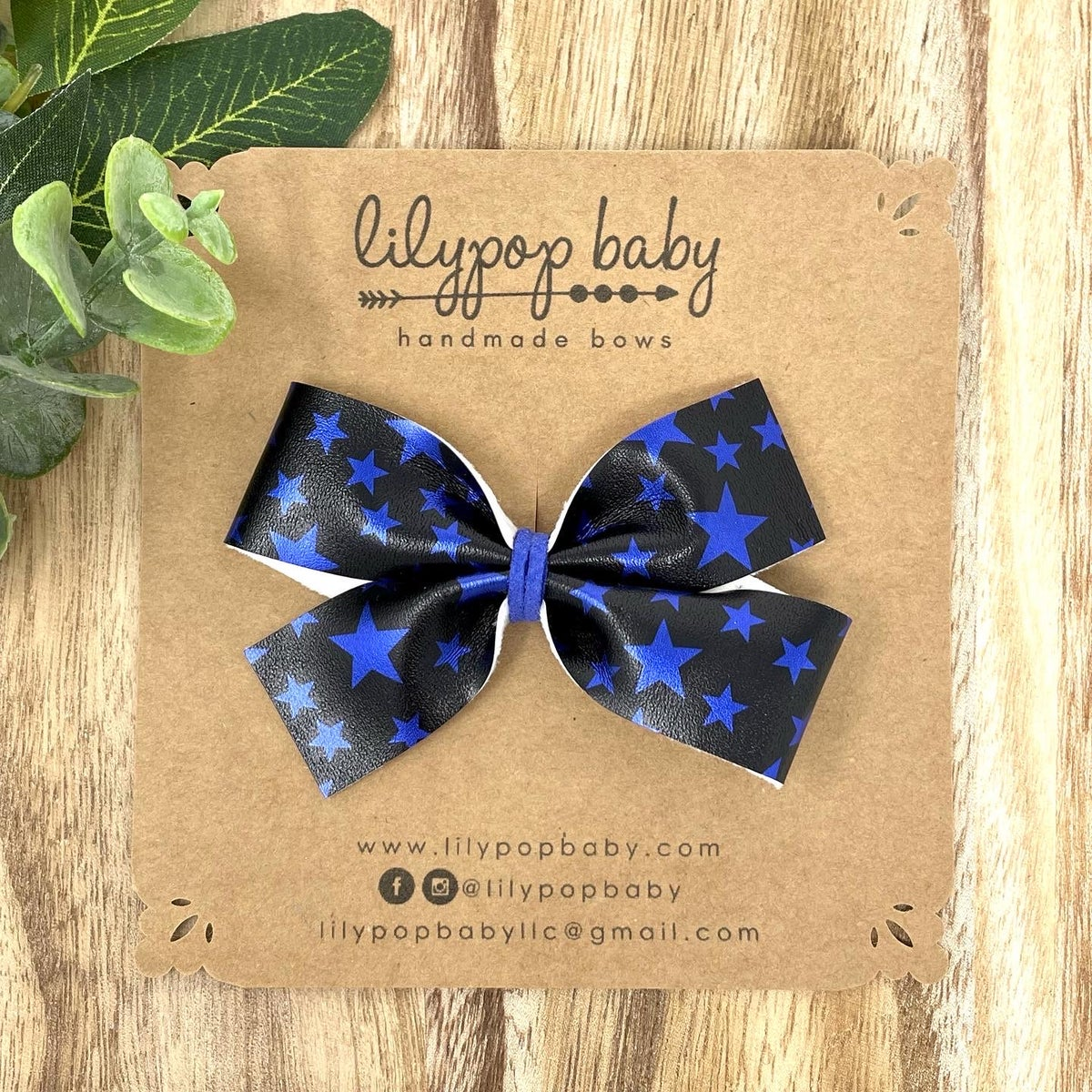 Image of Blue Stars Faux Leather (sold separately)
