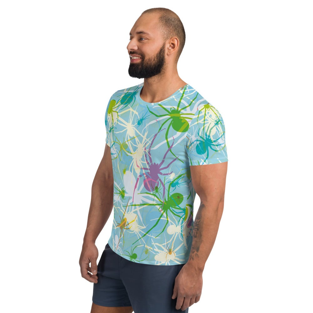 Image of Blue Widows Relaxed Fit Athletic T-shirt