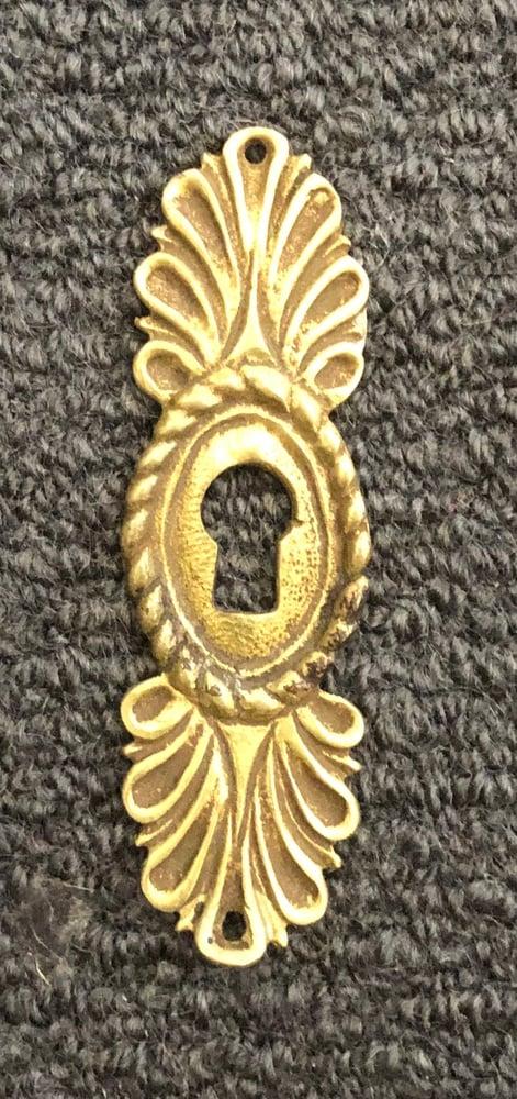Image of Ornamental Brass Look Keyhole