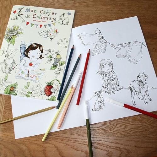 Image of Cahier de coloriage A4