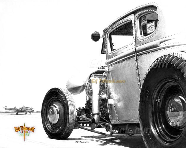 "Image of ""Back Seat Betty"" 11x17 print"