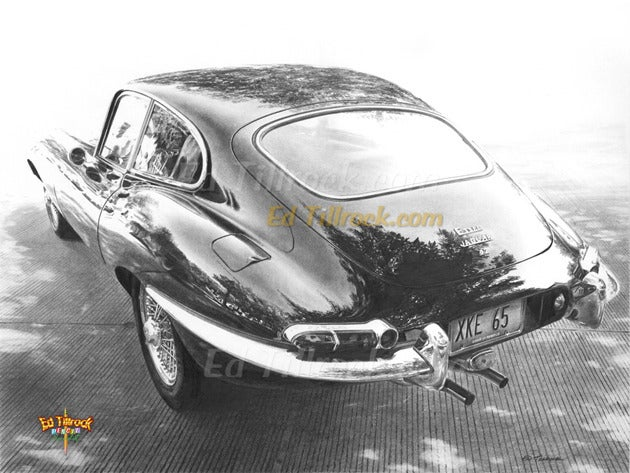 "Image of ""What a Jag!""  Signed & Numbered 20x24 Giclee' Print"