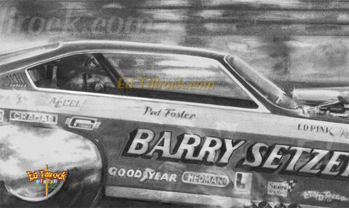 "Image of ""Pat Foster""  Signed & Numbered 20x24 Giclee' Print"