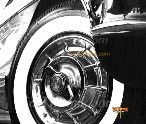 "Image of ""57 Vette""  Signed & Numbered 20x24 Giclee' Print"