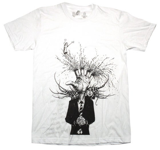 Image of Eat The Wounded White | by Alex Pardee | T Shirt