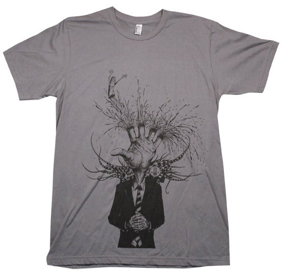 Image of Eat The Wounded Grey | by Alex Pardee | T Shirt