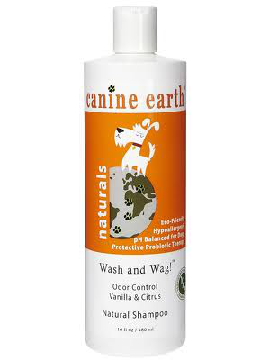 Image of Canine Earth Odor Control Vanilla Citrus Natural Dog Shampoo