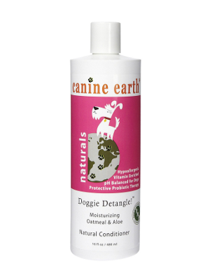 Image of Canine Earth Doggie Detangle Moisturizing Oatmeal & Aloe Conditioner