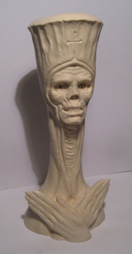 THE DEAD POPE- FULL SIZE UNPAINTED RESIN/BLANK CASTING