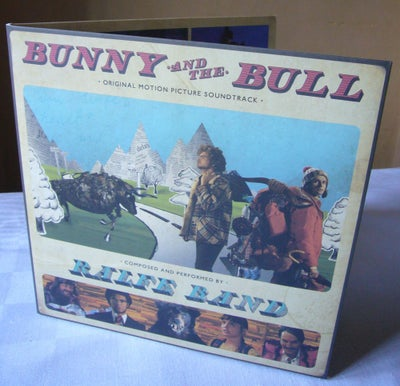 Image of 'Bunny and the Bull' VINYL LP, LIMITED EDITION OF 300, HAND-NUMBERED, GATEFOLD SLEEVE, FREE DOWNLOAD
