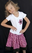 Image of Bright Pink Twirl skirt and shirt