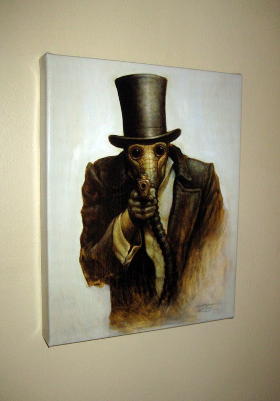 """I Want You- Canvas Giclee 11x14"""""""
