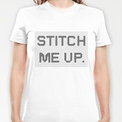Image of 'Stitch me up' t shirt