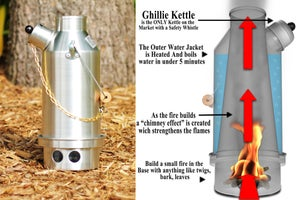 Image of Ghillie Kettle .5 liter - Maverick