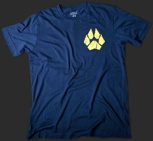 Anti-Abuse Police Men's Vintage Tee - Navy Blue