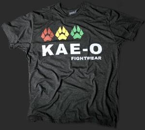 Fightwear 3-Paws Men's Tri-Blend Tee - Charcoal