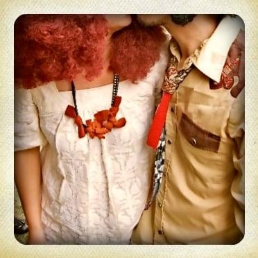 Image of twist & tie necklace