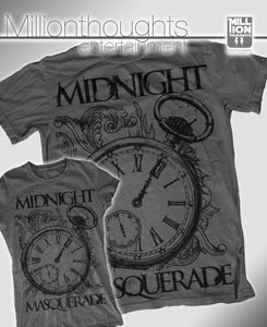 "Image of Midnight Masquerade - ""Clock"" Grey - Men"