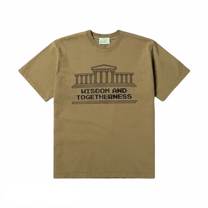 Image of ARIES ARISE WISDOM AND TOGETHERNESS TEE OLIVE