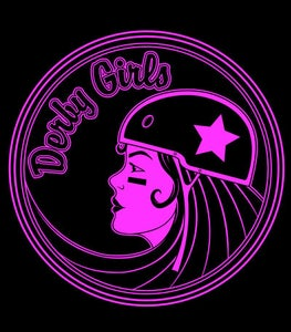 Image of Derby Girls - Black Tote Bag