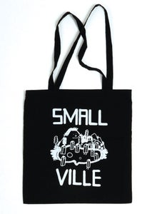 Image of Smallville Bag- Logo Print- Dark Blue